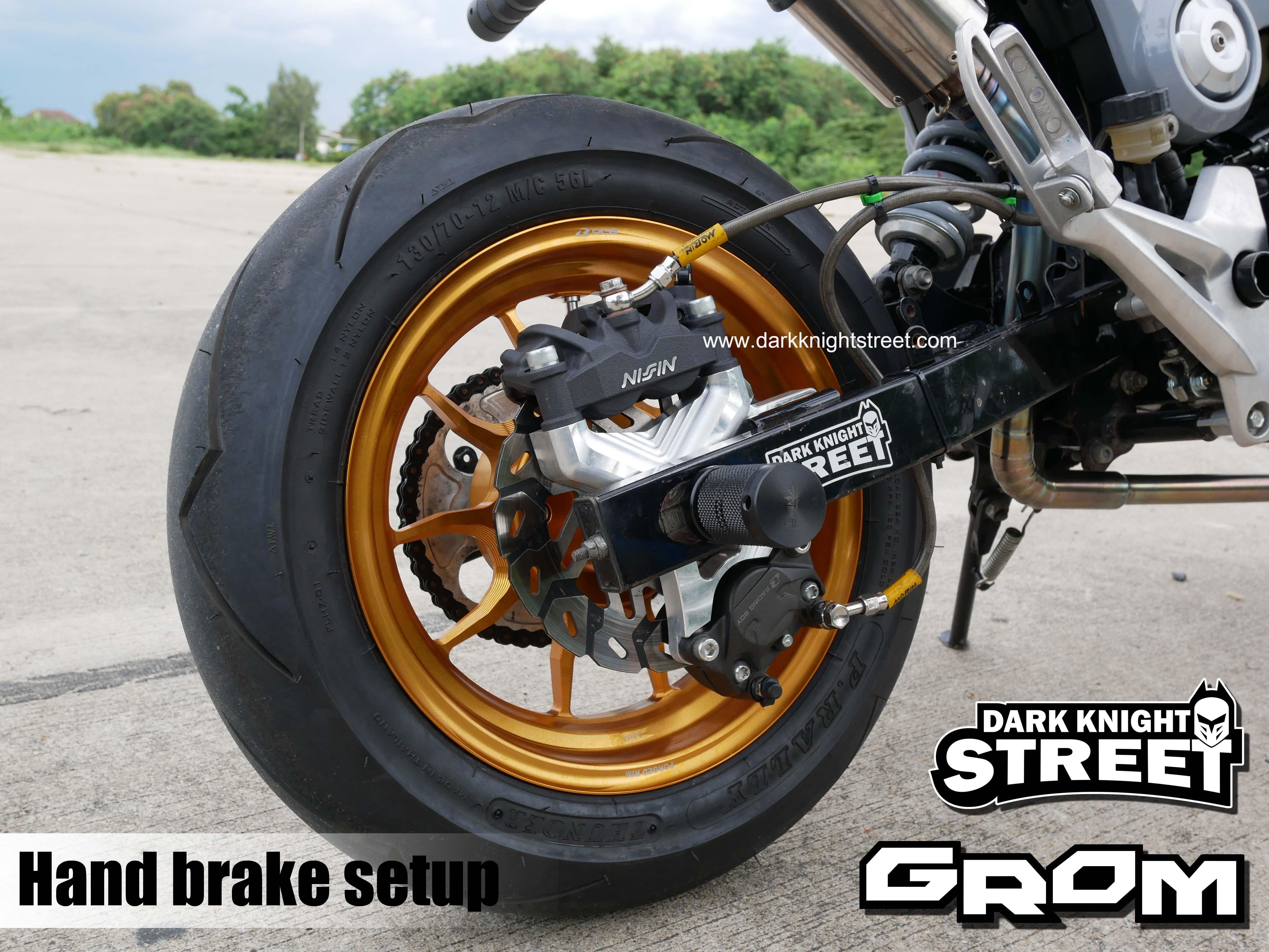 NEW!!! Hand brake setup