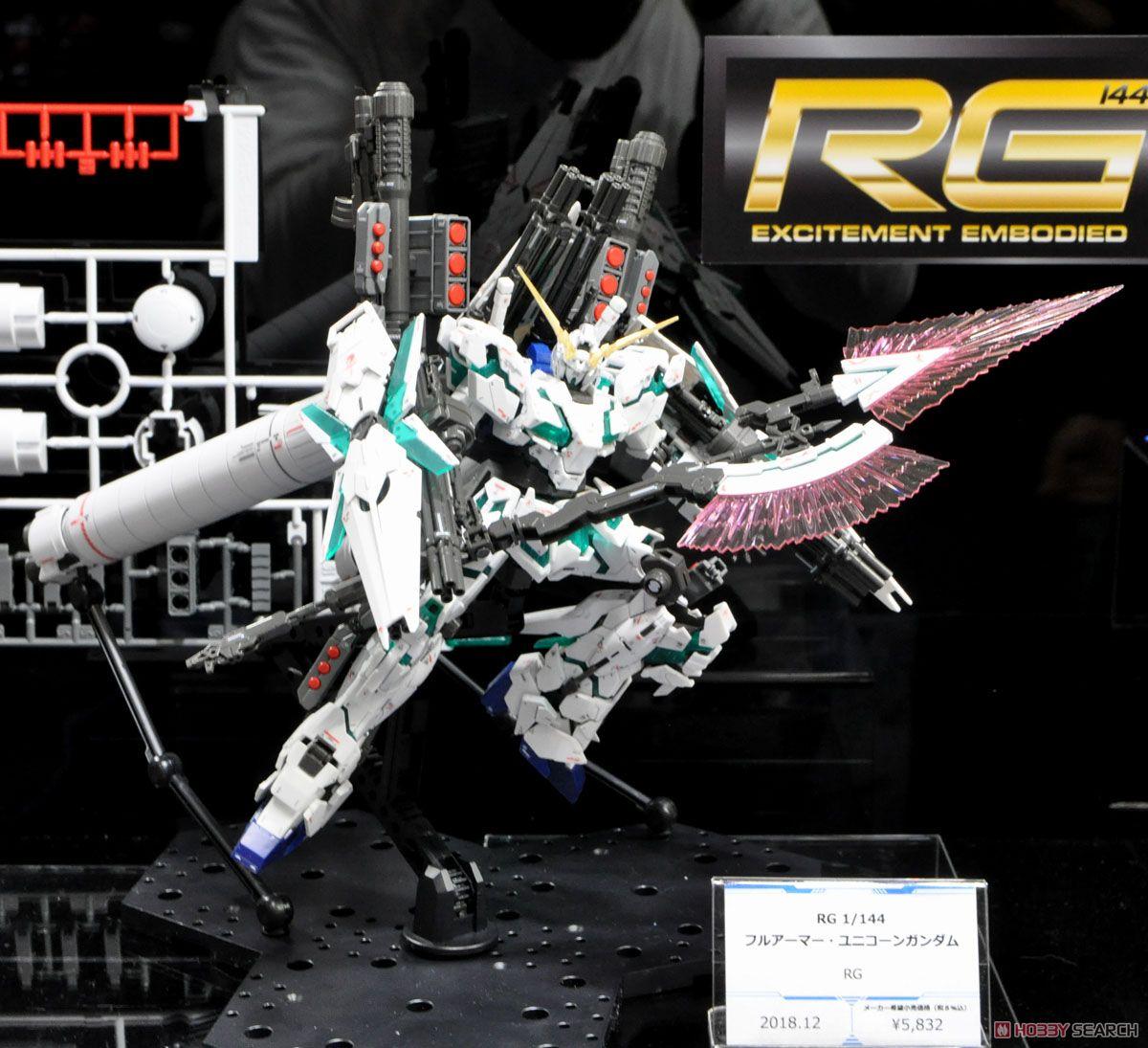 RG Full Armor Unicorn Gundam (Gundam Model Kits)